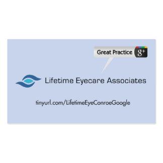 Lifetime Eyecare Associate Pack Of Standard Business Cards