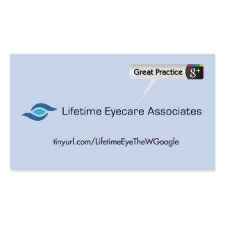 Lifetime Eyecare Associates Pack Of Standard Business Cards