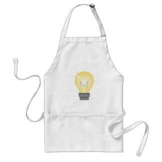 Light Bulb Standard Apron