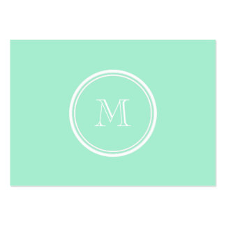 Light Mint Green High End Colored Pack Of Chubby Business Cards