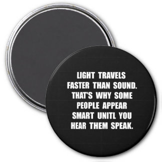 Light Smart 7.5 Cm Round Magnet