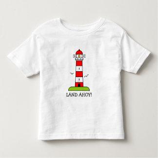 Lighthouse t shirt   Nautical kid's clothing