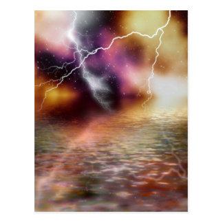 Lightning Postcard
