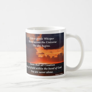 Like a Whisper! Basic White Mug