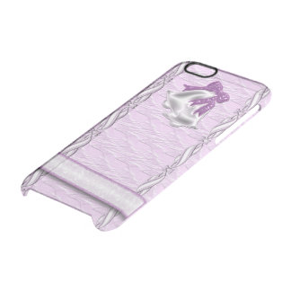 Lilac Elegance #1 Clear iPhone 6/6S Case