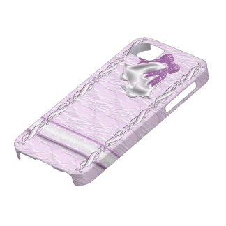 Lilac Elegance #1 iPhone 5 Case