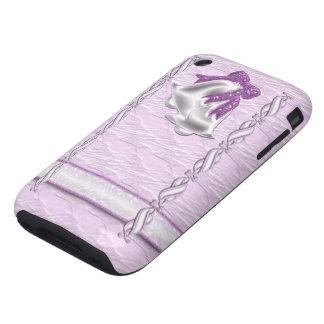 Lilac Elegance #1 Tough iPhone 3 Case