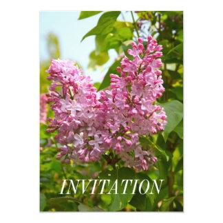 Lilac Tree Invitation