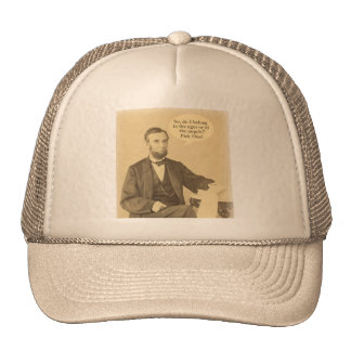 Lincoln Ages or Angels Historic Quote Cap