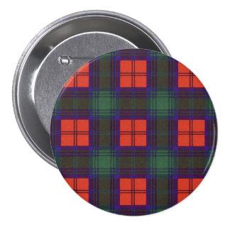 Lindsay clan Plaid Scottish tartan 7.5 Cm Round Badge