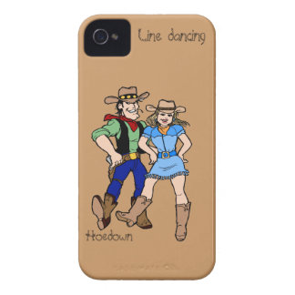 Line dancing hoedown iPhone 4 Case-Mate case