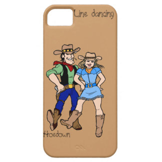 Line dancing hoedown iPhone 5 cover