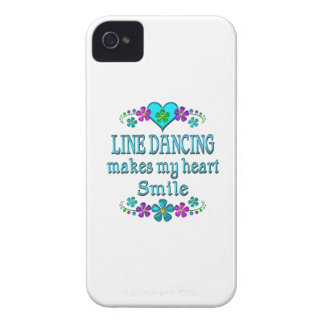 Line Dancing Smiles Case-Mate iPhone 4 Cases