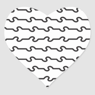 Lines_1.ai Heart Sticker
