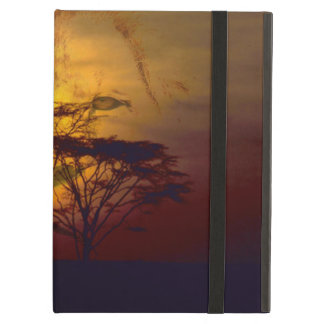 Lion African Sunset Case For iPad Air