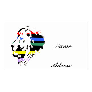 LION COLOR PACK OF STANDARD BUSINESS CARDS