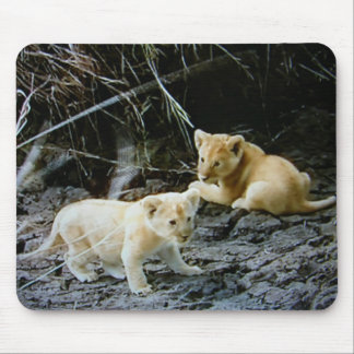 """LION CUB BROTHERS HANG OUT"" MOUSE PAD"