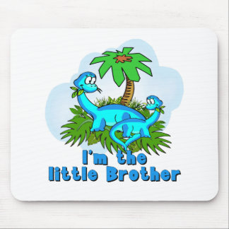 Little Brother Dinosaurs Mouse Pad