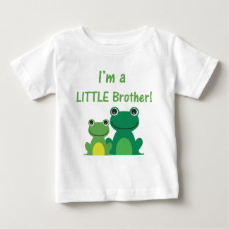 Little Brother Frog Sibling T (Green/Green) Shirt