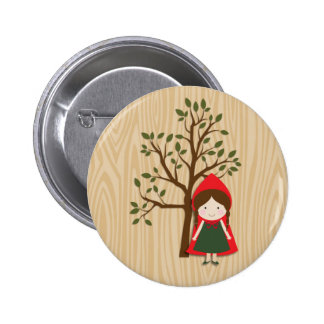 Little Red Riding Hood 6 Cm Round Badge