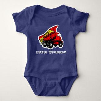 Little Trucker red truck boys T-shirts