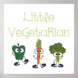 Little Vegetarian Poster