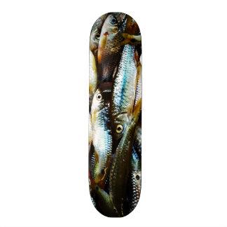 Little White Fish #2 21.6 Cm Skateboard Deck