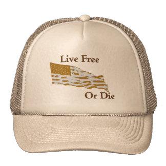 Live Free or Die - hat
