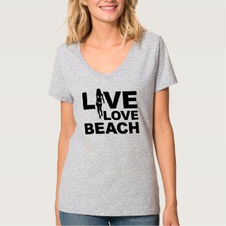 Live Love Beach T-shirts