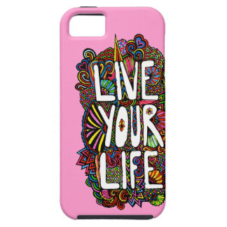 Live Your Life - Color iPhone 5 Cover