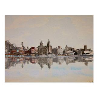 Liver Building Liverpool - Postcard