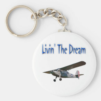 Livin' The Dream, Champ Basic Round Button Key Ring