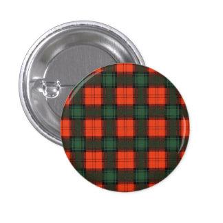 Livingston clan Plaid Scottish tartan 3 Cm Round Badge