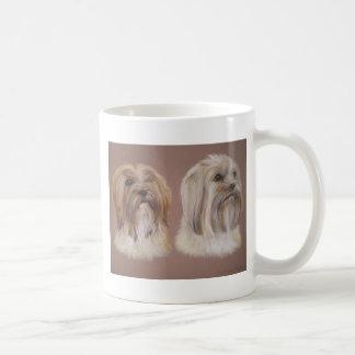 Llasa Apso Basic White Mug