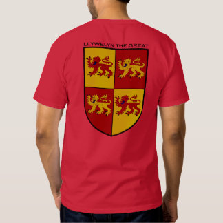 Llywelyn the Great Coat of Arms Shirt