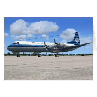 Lockheed Electra Airliner Greeting Card