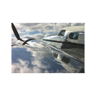 Lockheed Electra Gallery Wrap Canvas