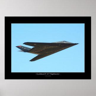 Lockheed F-117 Nighthawk Poster
