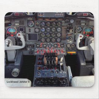 Lockheed Jetstar II Instrument Panel and Cockpit Mouse Pad