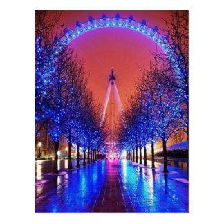 London Merry-Go-Round Postcard