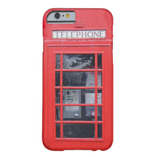 London Red Telephone Box Barely There iPhone 6 Case