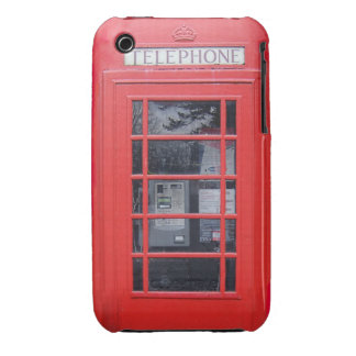 London Red Telephone Box Case-Mate iPhone 3 Case