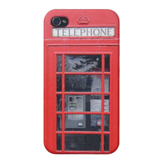 London Red Telephone Box iPhone 4 Cover