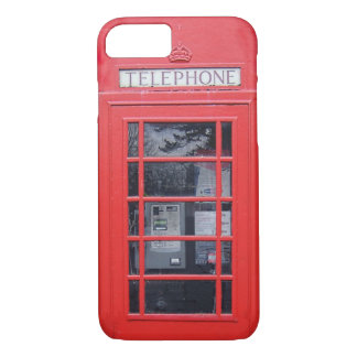 London Red Telephone Box iPhone 7 Case