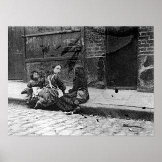 London Slums, Twine Court Poster