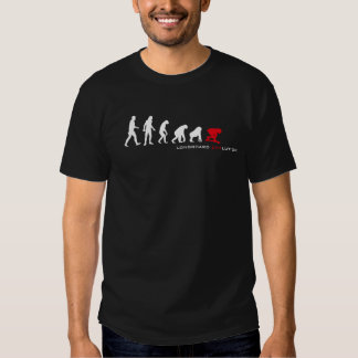 Longboard Evolution Dark Tshirts