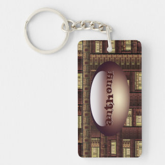 Looking at your window Key Chain
