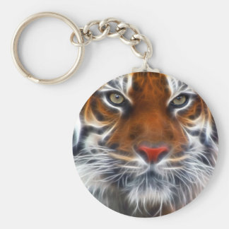 Lord of the Indian Jungles, The Royal Bengal Tiger Basic Round Button Key Ring