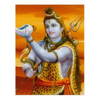 Lord Shiva (Hindu Deity Series) Postcard