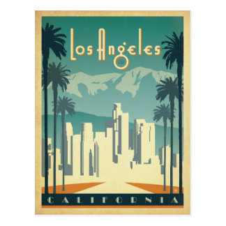 Los Angeles, CA 2 Postcard